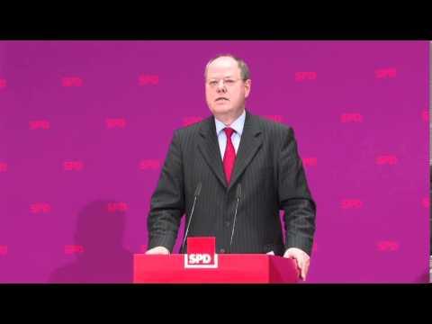 Vorstellung des SPD-Regierungsprogramms 2013