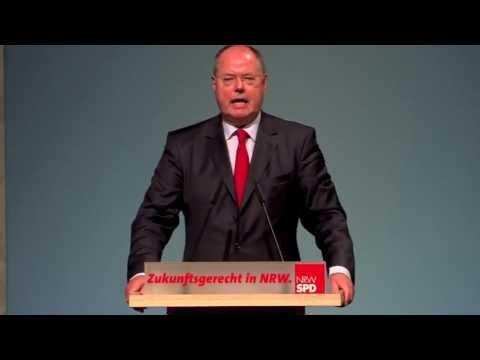 Rede von Peer Steinbrück beim Zukunftskonvent der NRWSPD 2013