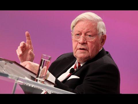 """Helmut Schmidt """"Deutschland in und mit Europa"""" - Parteitag 2011"""