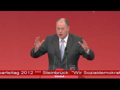 Peer Steinbrück (Rede Teil 2) auf dem SPD-Parteitag 2012