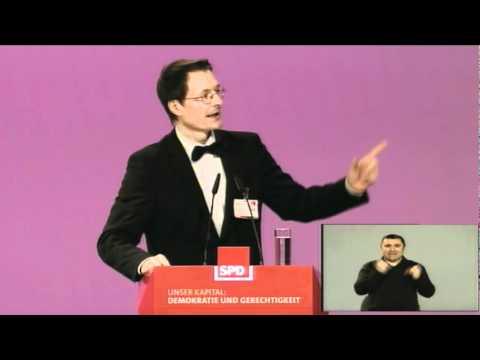 Karl Lauterbach - Leitantrag Bürgerversicherung - Parteitag 2011
