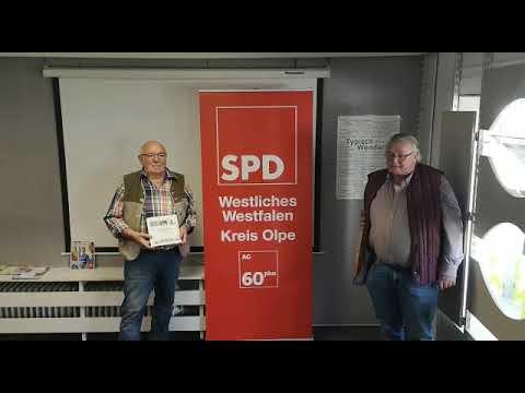 Grußwort von Reinhard Jung nach Attendorn zu 125 Jahren SPD