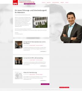 Bürgermeisterkandidat Christian Pospischil ab sofort mit eigenem Blog
