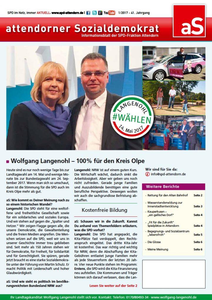 SPD AS - Ausgabe 01-17
