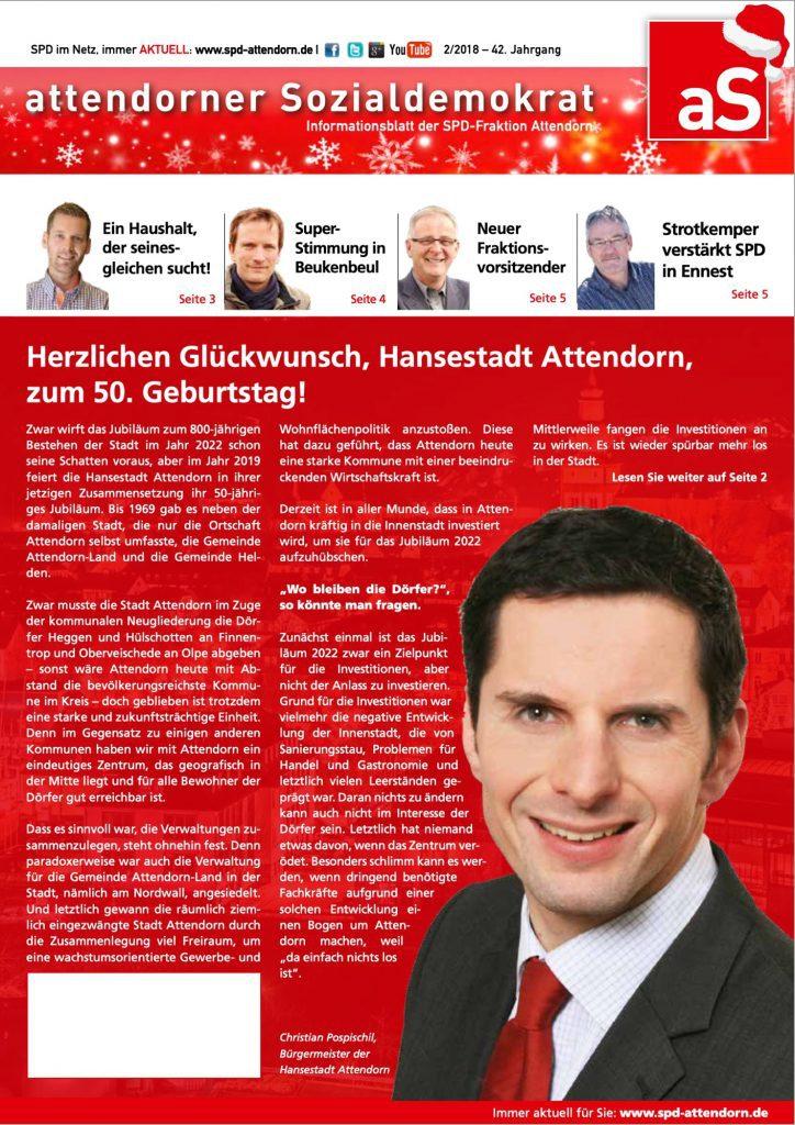 SPD Attendorn - AS 2018-2