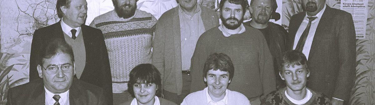 Ehrung SPD Attendorn 1980er Jahre