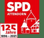 125 Jahre SPD Attendorn - Logo
