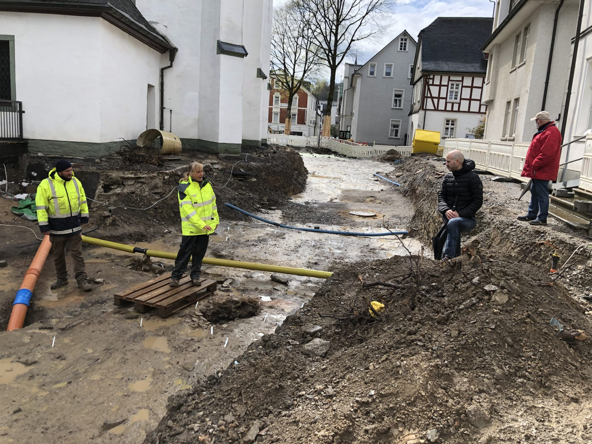 SPD-Fraktion an archäologische Ausgrabungen am Dom interessiert