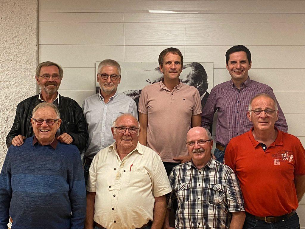 Verabschiedung langjähriger Fraktionsmitglieder